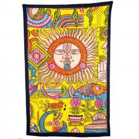 India-Cotton -Sun -Artisan-240 x 210 cm