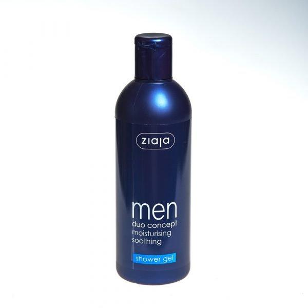 Gel shower moisturizing and refreshing-man - 300 ml