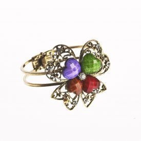 Bangle - Disenotrebol - decorated stones - various colors