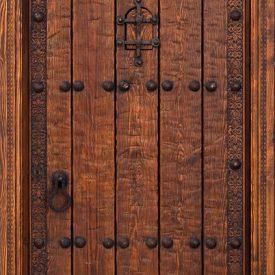 Moorish door Aljibe - high Standing - inspired Alhambra