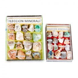 Collection minerals - display cabinet glass - 2 sizes