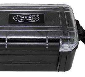 Sealed box - plastic - mesh interior agua-Bolsa