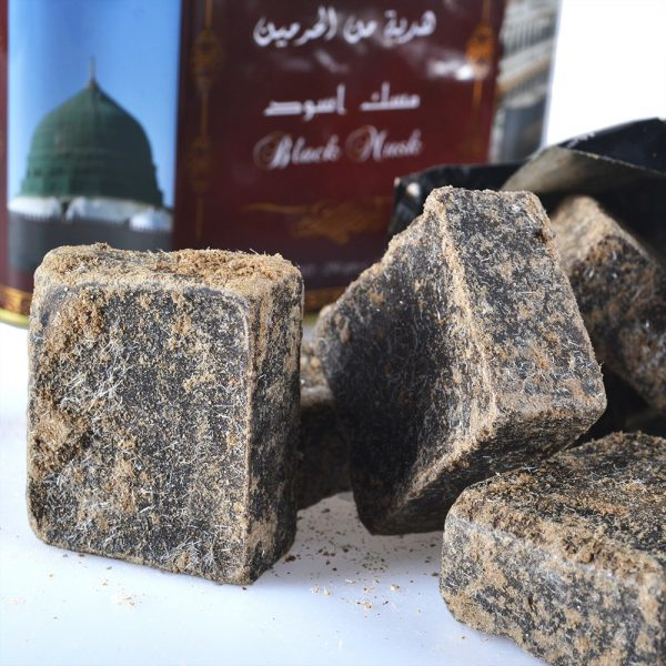 Black musk quality stone Premium - resin - 250 gr-Formato Tin