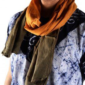 Summer scarf style Tuareg - 100% cotton - various colors - 150 cm