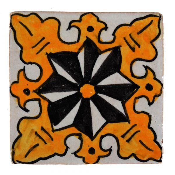 Al-Andalus - 10 cm - several designs - handcrafted tile - model 22