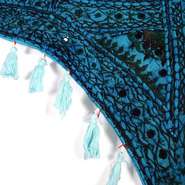 Mat decoration bow - artisan - 100 x 75 cm-various colors