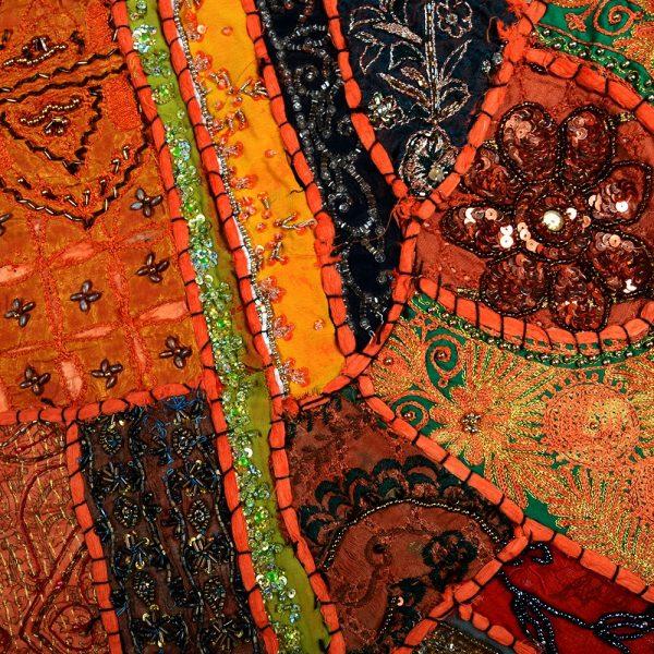 Mat Pathwork Deluxe - 150 x 100 cm - artisan - various colors
