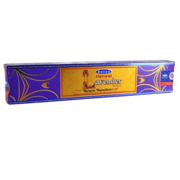 Incense - Lavender - Satya Natural - new range of smells - novelty