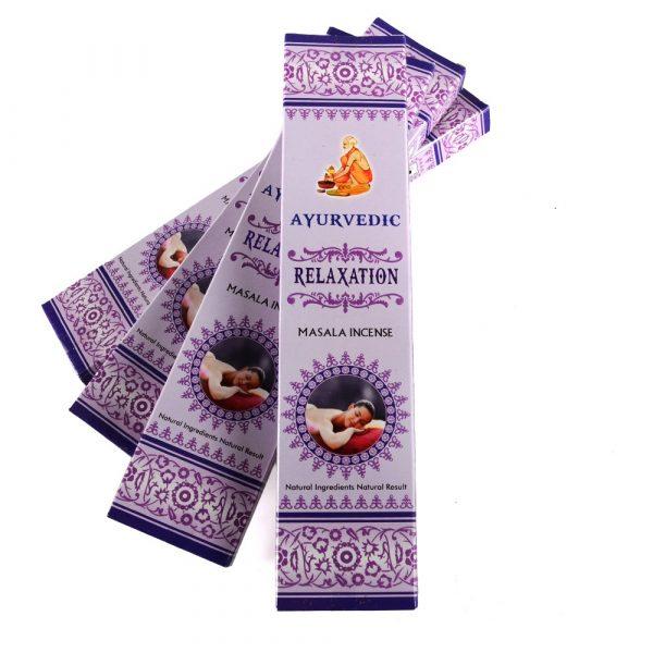 Masala - Ayurvedic - relaxation - incense box 15 rods