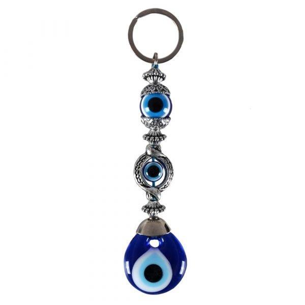 Turkish eye - model Triojo - 14 cm keychain