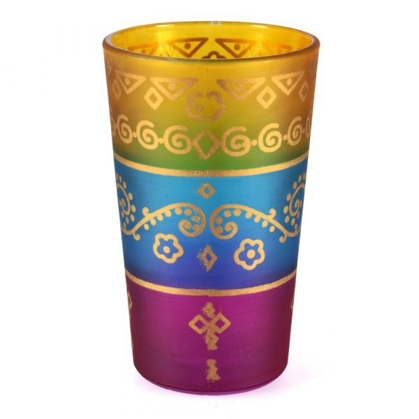 Game 6 glasses Arab - interposed colours – NOVELTY – model 8