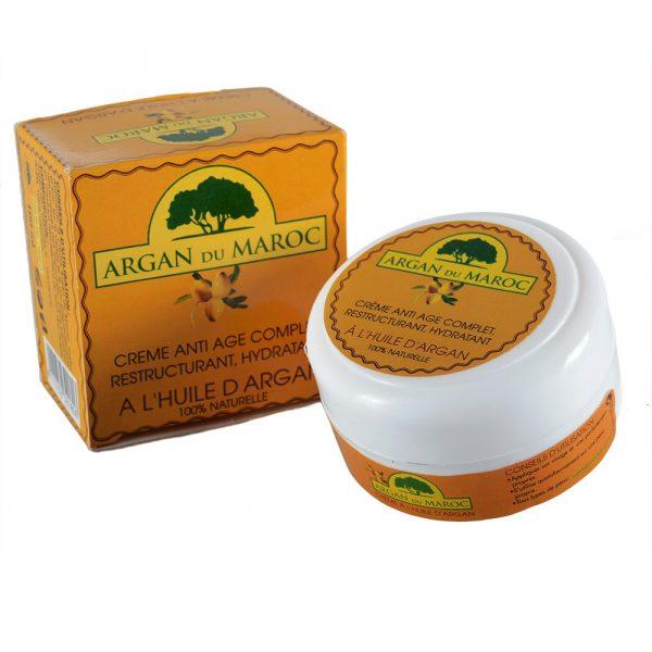 Crema Aceite de Argán - 100% Natural -Anti Edad - Hidratante - 100 ml