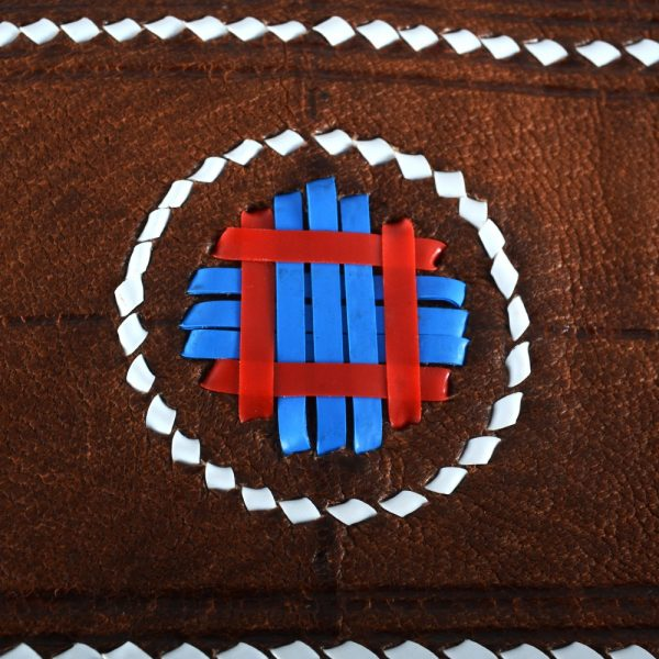 Tuareg fringe bag - decorated colors - novel model - 2 sizes