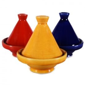 Grocer Mini Tajin decorated - various colors - 10 cm high