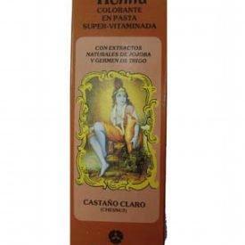 Dye henna paste Super-Vitaminada - RADHE SHYAM - light brown - 200 ml-