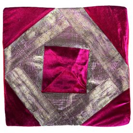 Fine cloth and velvet - pad 40 cm - several colors - design Arabic