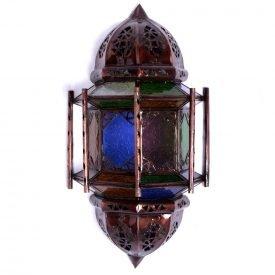 Apply glass draught - bars - Multicolor - 37 cm