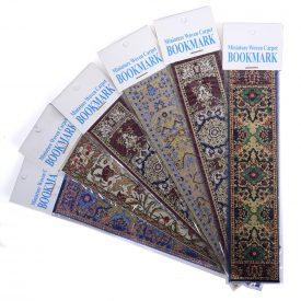 Turkish Tapestry Bookmark - Geometric Arabic Designs - 23 x 5 cm