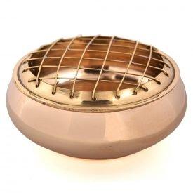 Bronze Grid Incense - Model Chawaya - Cones or Charcoal