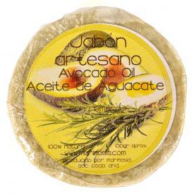Artisan Avocado Soap with Rosemary - 100% Natural