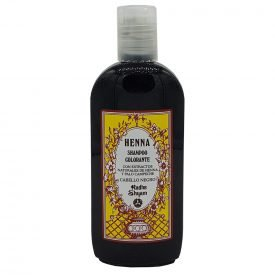 Henna Shampoo - Coloring - With Natural Extracts of Henna and Chamomile - Black Hair - Radhe Shyam- 250 ml
