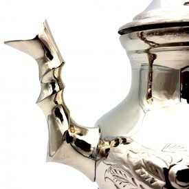 Sultan Teapot - nickel-plated copper - 12 cl - DELUXE