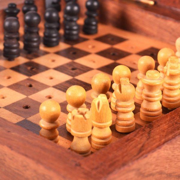 Travel Chess - Anchors - Craft - 13 cm - Rihla Model