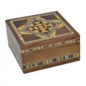 Square Box - Taracea Syria - 7 x 7 cm - Model ALEPO