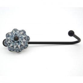 Forge and Ceramic Hanger - Floral Design - Turkey Model