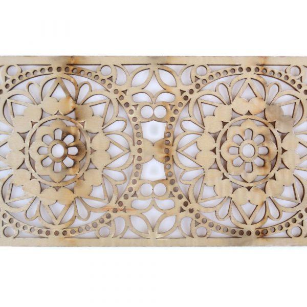 Arabian Celosia Openwork - Wood Laser Cut - Model 12 - 50 cm