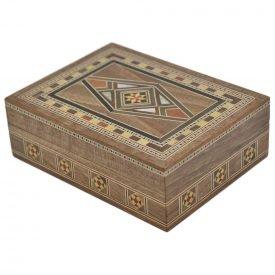 Syrup Box Rectangular Syria - Star Decoration - 10.5 cm