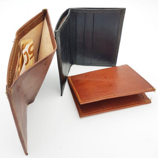 Wallet Card Holder for Men - 100% Natural Leather - Model TAKA
