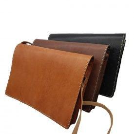 Men's Leather Bag - 100% Natural - Marroquineria - Model BASIT