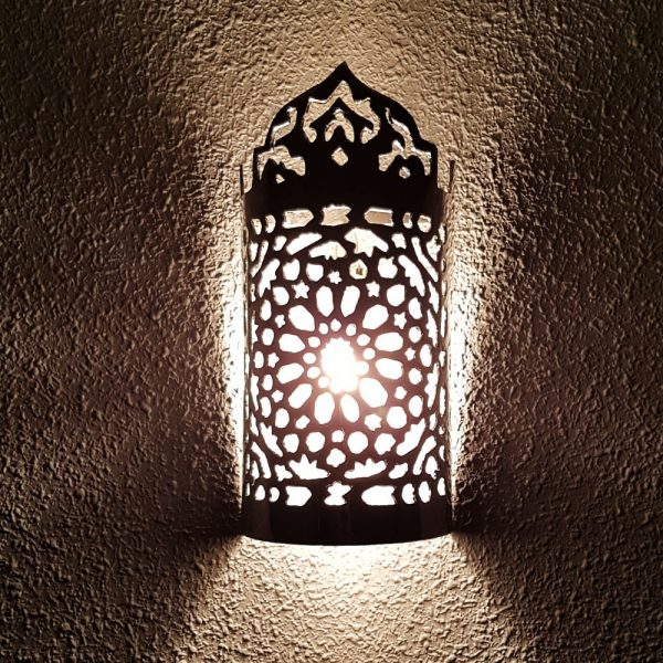 Aluminum Arabic Wall Sconce - Celosia Andalusi - CORONA Model