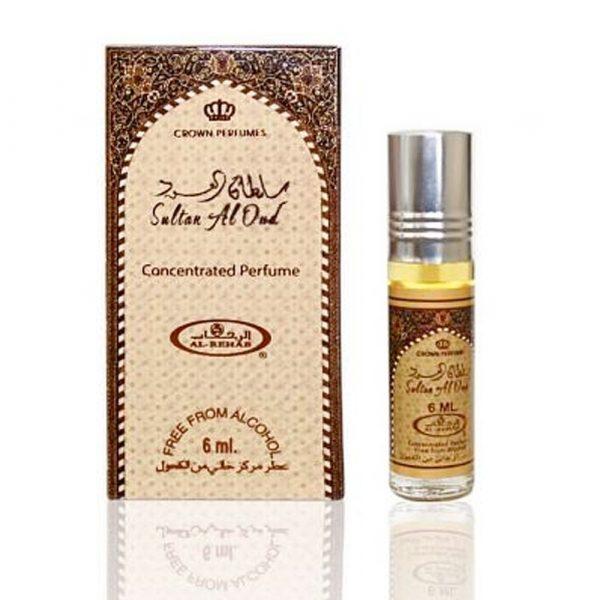 Sultan Al Oud- Arabic Perfume Oil 6 ml Al-Rehab