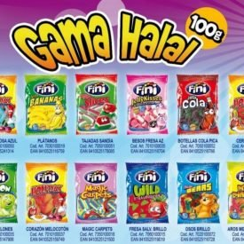 PACK Gluten Free and Halal Candies - Candy Bag 12 x 100 gr