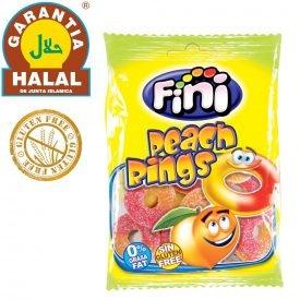 Peach Rings - Gluten Free and Halal Golosia - Bag of Chucherias 100 gr