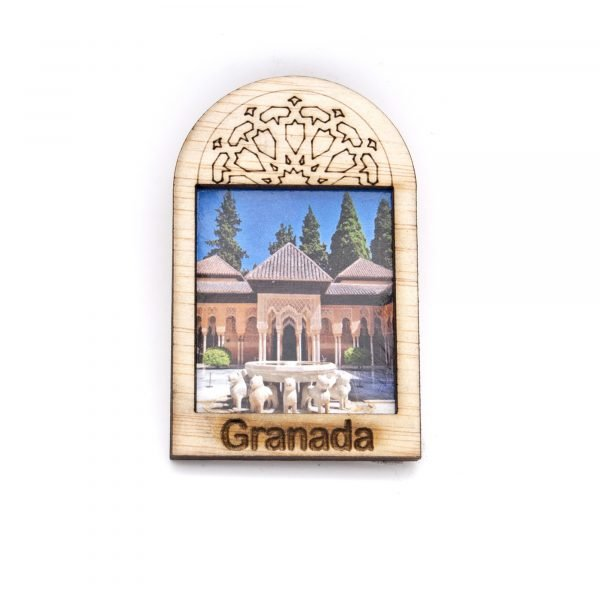 Arabian Window Fridge Magnet - Alhambra Design - Souvenir
