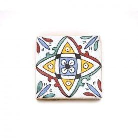 Andalusí tile - 10 cm - Artisan - Model 65