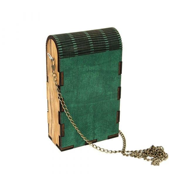 Handmade Olive Bag - Original and Modern
