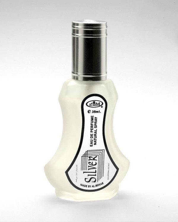 Silver Perfume (35ml) Spray - Al Rehab