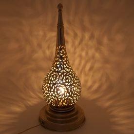 Alpaca Openwork Table Lamp - Kamuzra Model - 30 cm