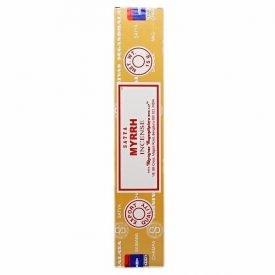 Myrrh Incense - Satya - Great Quality - 15 gr
