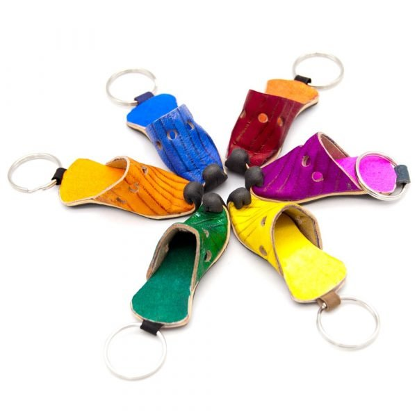 Aladdin Morocco Slipper Keychain