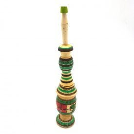 Coliro Floral Holder - Wood - Moroccan Khol Container