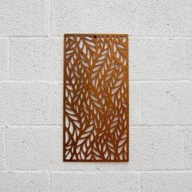 Wood Lattice - Autumn Design - 60 x 30 cm