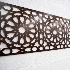 Wood Lattice Ceiling Alhambra - 250 x 50 cm - 4 mm