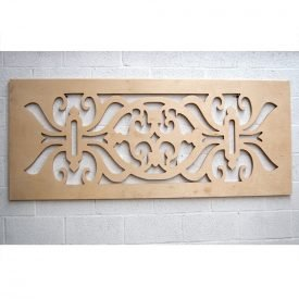 Bed Headboard Wood Lattice - 200 x 83 x 3 cm - Asjar Model