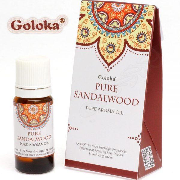 Essential Oil - Pure Sandalwood - Goloka