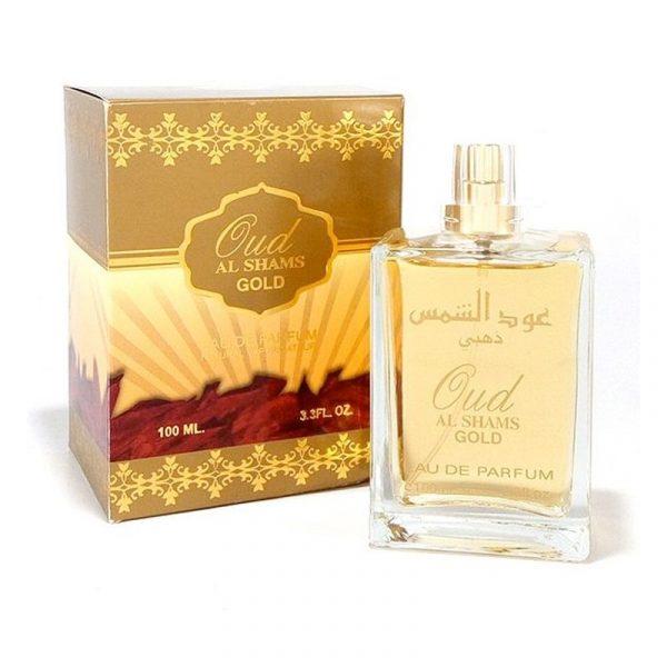 Oud Al Shams GOLD - 100 ml - Arabian Perfume DELUXE
